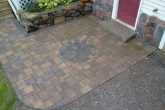 Paver Entrance way done in Center Harbor, NH