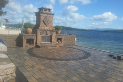 Outdoor Fireplaces NH Lakes Region