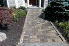 Belgard Paver walkway installed in Meredith, New Hampshire