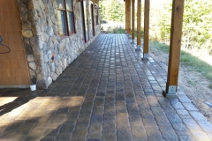 Meredith, New Hampshire Paver patio After Picture