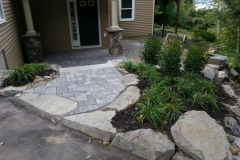 Belgard Pavers Installed in Gilford, New Hampshire Belknap County