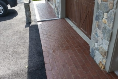 Brick Border installed in Gilford, New Hampshire, Belknap County
