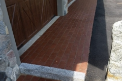 Paver Border and Granite installed in Gilford, New Hampshire, Belknap County