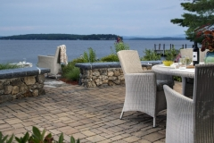 Waterfront Patio Permeable Pavers New Hampshire