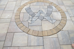 Waterville Valley Logo done in Pavers