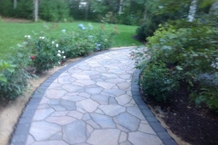 Belgard Mega-Arbel Paver Walkway with border